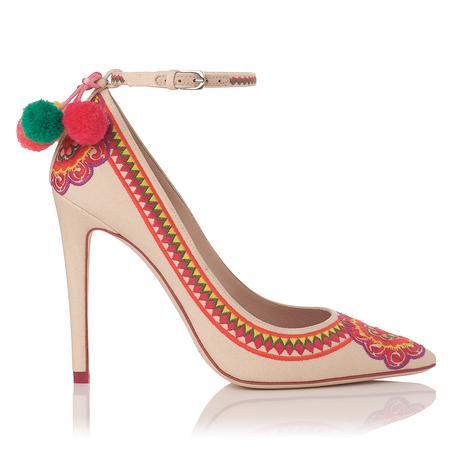 zapatos nude Caroline Issa, para LK Bennett