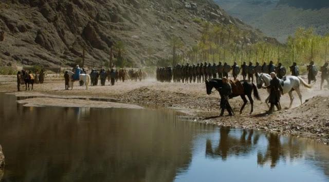 Daenerys Jorah Barristan inmaculados viajan hacia Yunkai - Juego de Tronos en los siete reinos
