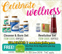 PROMOSI: CLEANSE & BURN SET DAN REVITALISE SET