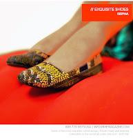 Sepha African Print shoes - BHF Shopping mall - iloveankara.blogspot.co.uk