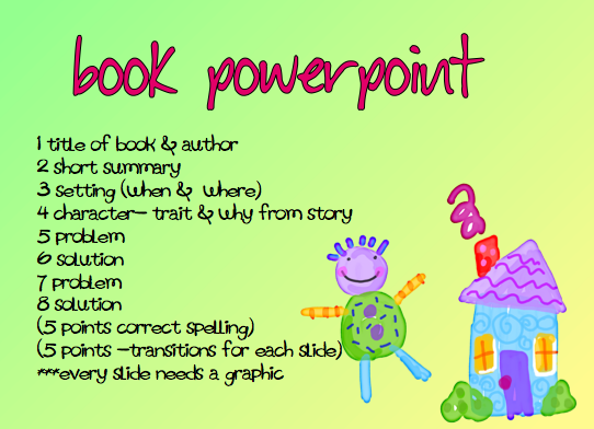 book report powerpoint Pete's powerpoint station is your destination for free powerpoint presentations for kids and teachers about book reports, and so much more.