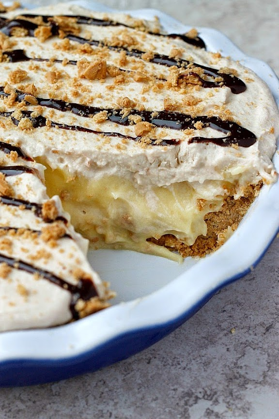 CUP OF JO: Peanut-Butter Banana Cream Pie