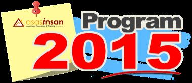 Senarai Program 2015
