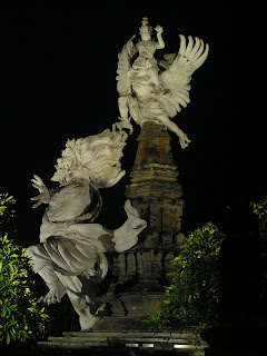 Patung Wisnu di Gianyar Bali