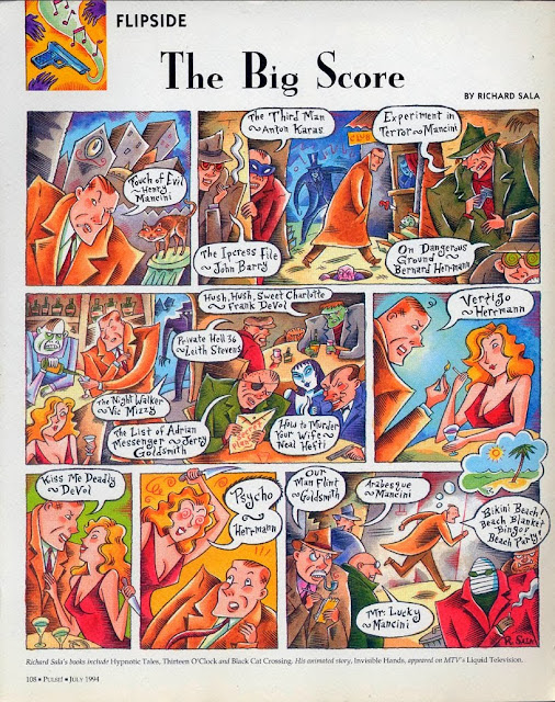 'The Big Score' by Richard Sala