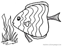 Printable Ocean Fish Coloring Pages For Kids