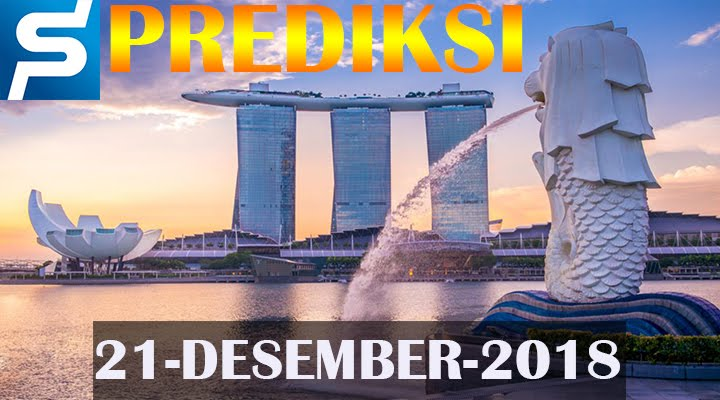 Prediksi Togel Singapore 22 Desember 2018 SGP Jitu
