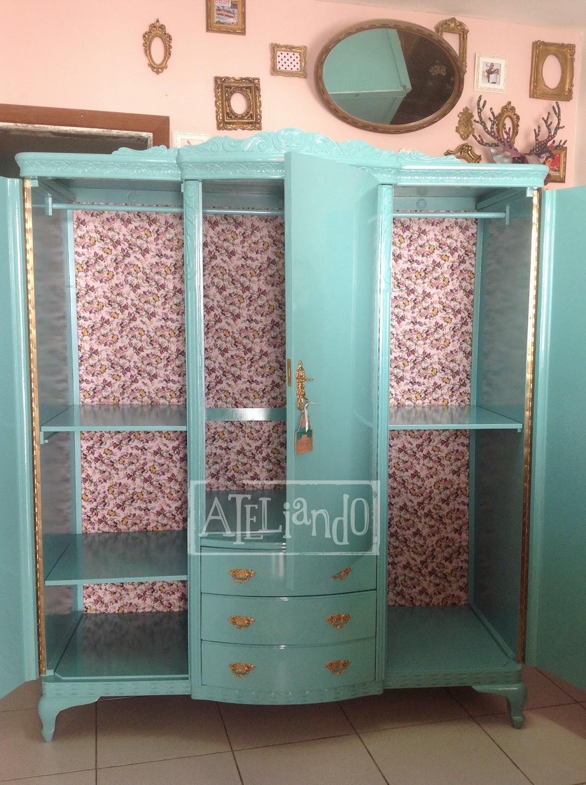 Ateliando Customização de móveis antigos: Do lixo ao luxo  #91563A 1195x1600