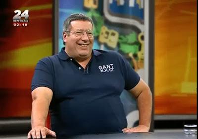 Eduardo Barroso chama gordo a Manuel Serrão