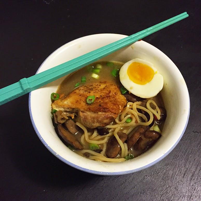 Miso-Chicken Ramen
