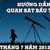 Hướng dẫn quan sát bầu trời tháng 7 năm 2013