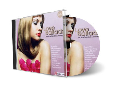 Cd Love Ballads Vol. 2 (2012)