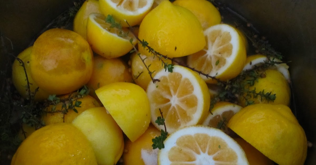 WineBookGirl: Easy Lemon Confit