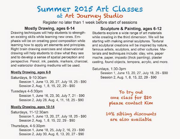 Art Class Sessions