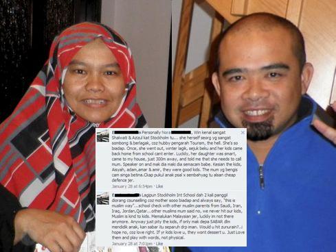 kisah pasangan ditahan di sweden, fakta sebenar pasangan di sweden, kisah sebenar di sweden, punca pasangan malaysia di tahan di sweden, pasangan malaysia yang ditahan di sweden, pasangan malaysia pukul anak di sweden, gambar pasangan malaysia yang ditahan di sweden, gambar jiran bagi kenyataan di sweden