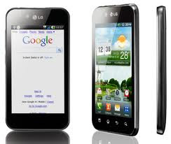 LG Smartphone Optimus Android