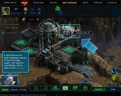 Infinite Realms - Hero Lounge