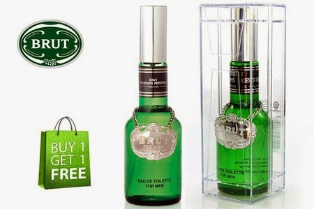 Groupon : Buy Brut Perfume EDT 100ml Buy 1 Get 1 Free at Rs. 899 only