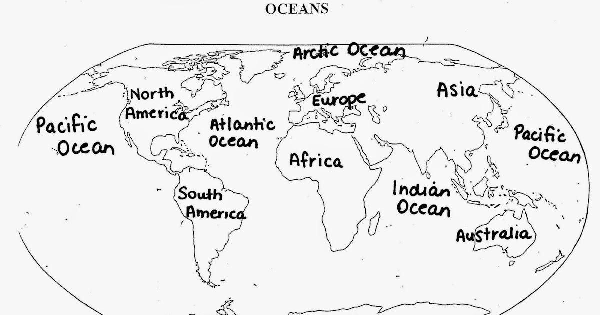 world map study guide
