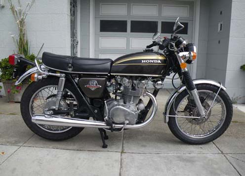 modifikasi honda cb450 cafe racer honda cb450 lansiran 1971 kini  title=