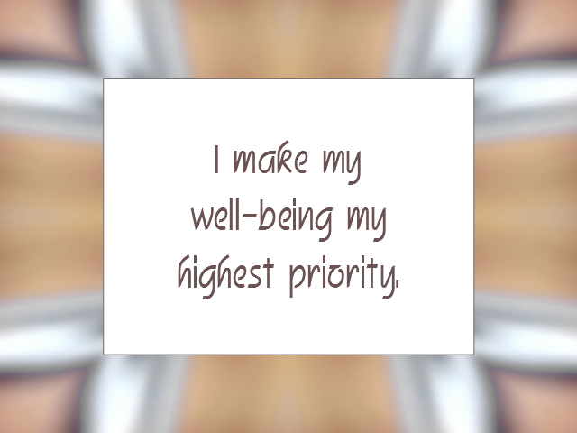 HEALING affirmation