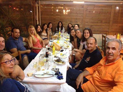 Δείπνο της διοίκησης στις γυναίκες της Νίκης Βόλου για την άνοδο