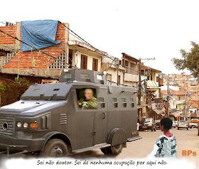 Marcio Lacerda usa o caveirão para reprimir moradores