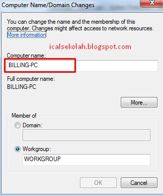Cara Merubah Nama Komputer Lengkap Dengan Gambar