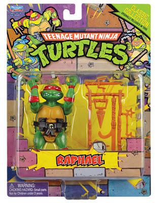 Playmates Teenage Mutant Ninja Turltles TMNT Classic Collection Raphael Figure