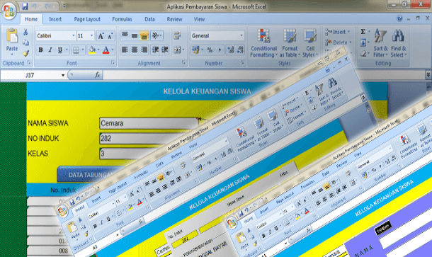 Aplikasi Tabungan Siswa Format Microsoft Excel