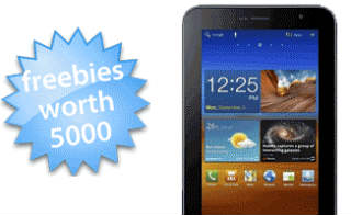 Freebies with Samsung Mobiles