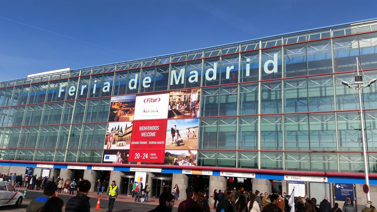 Fitur la feria internacional del turismo en madrid for Feria del mueble madrid 2017
