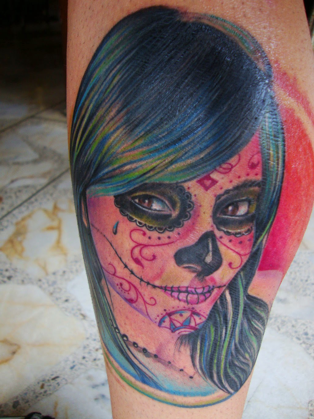 Catrina Tattoos Idea