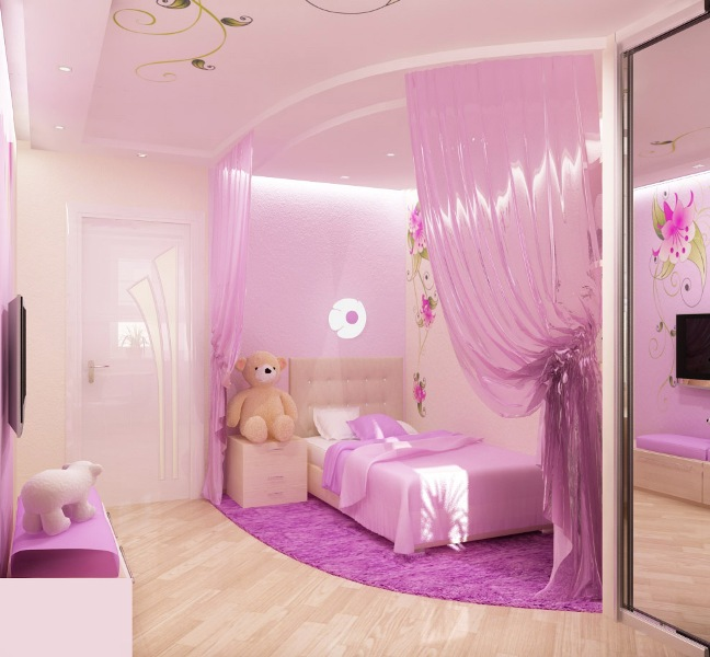 Little girls bedroom designs interior designs room for Female bedroom ideas