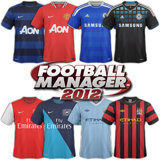 England Kits Megapack | FM 2012