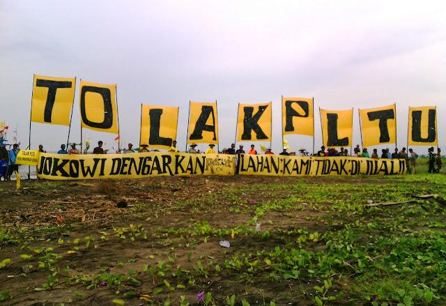 Jokowi Batal ke Batang, Penolakan PLTU Terus Disuarakan