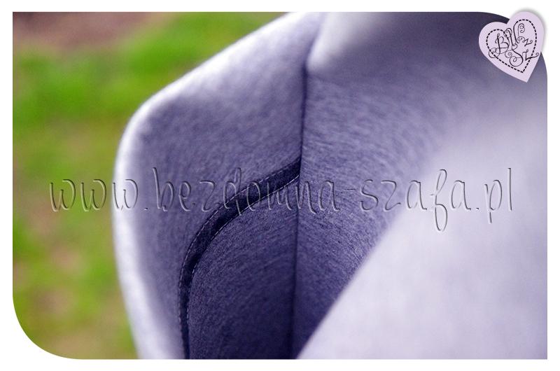 płaszcz z pianki kieszenie wnętrze