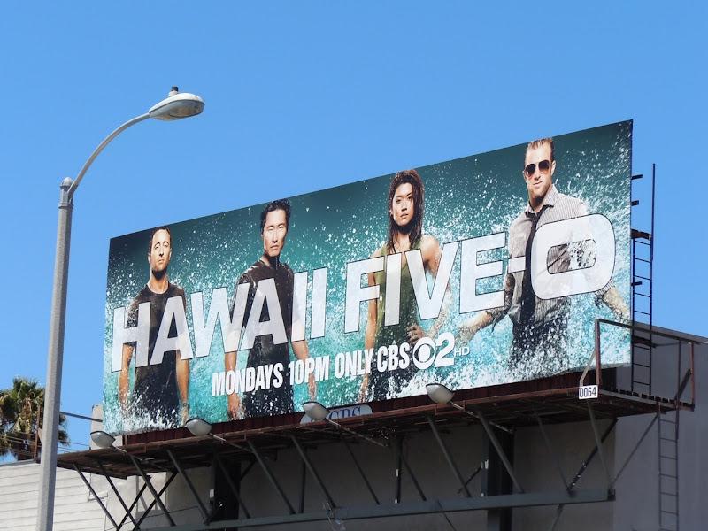 Hawaii Five-O season 1 billboard
