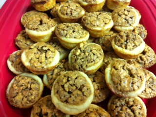 Sweet Samplings: Day 105: Mini Pecan Cups