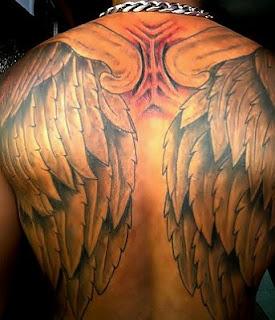 Tatoos y Tatuajes de Alas, parte 4