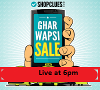 ( Still Live ) Shopclues Apps  : Ghar Wapsi sale