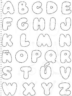 Alguns Modelos De Letras Para Confeccao Do Painel Do Alfabeto