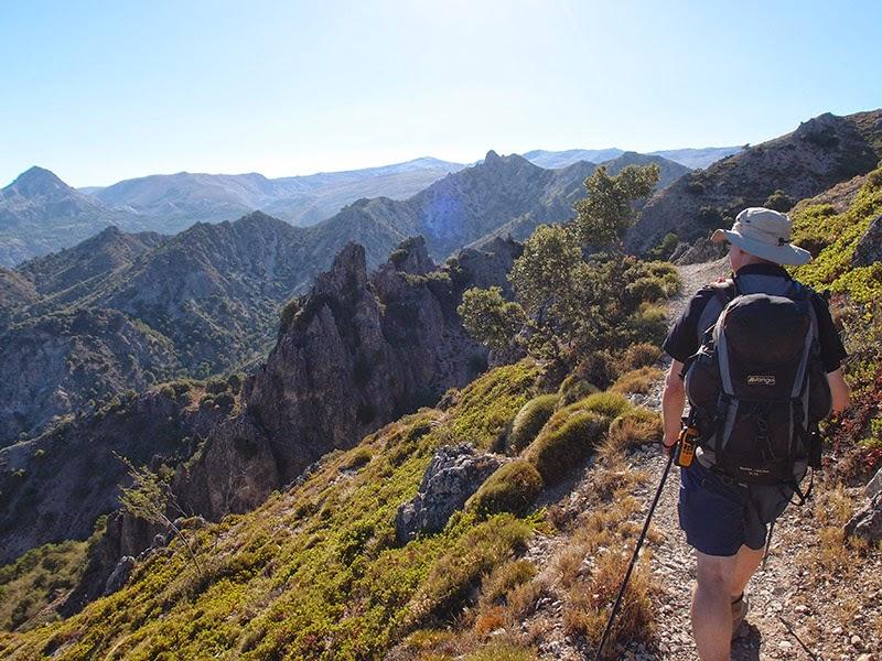 Senderismo en las sierras de Granada
