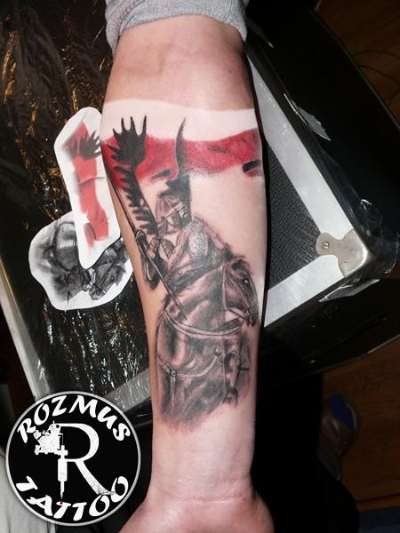 Rozmus Tattoo Husarz Na Koniu