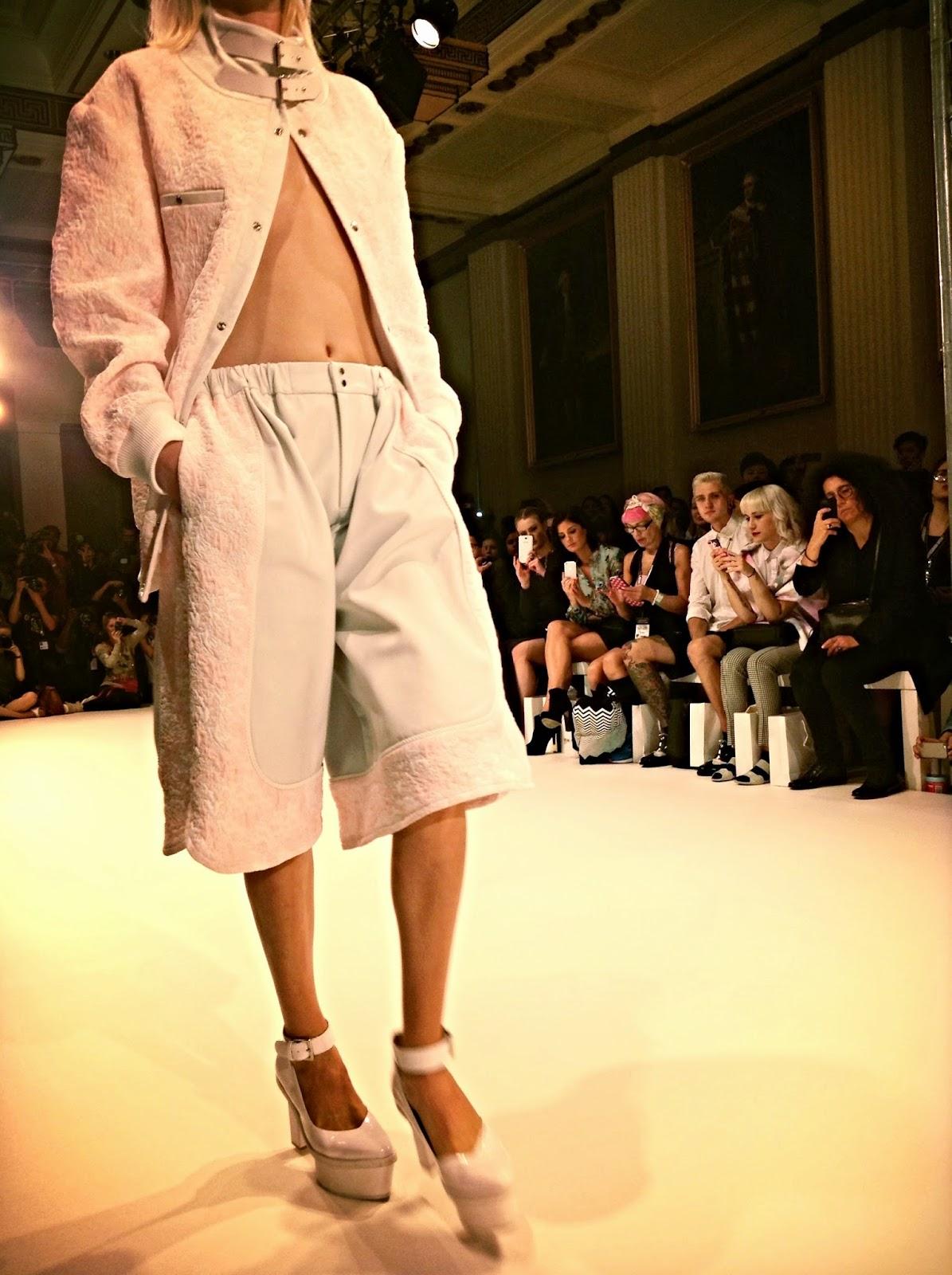 Jamie Wei Huan SS15 London Fashion Week
