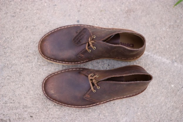 CDB's chukkas brown boots