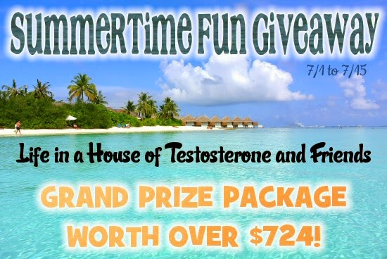The Grand Prize Package Contains Prizes Worth Over $724.00