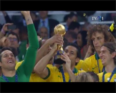 Premierea Braziliei in finala Brazilia Spania Cupa Conferatiilor