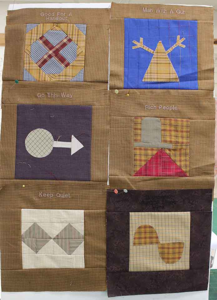 DEBRA G. HENNINGER - Hobo Quilts: 55+ Original Blocks Based on ** Brand New **