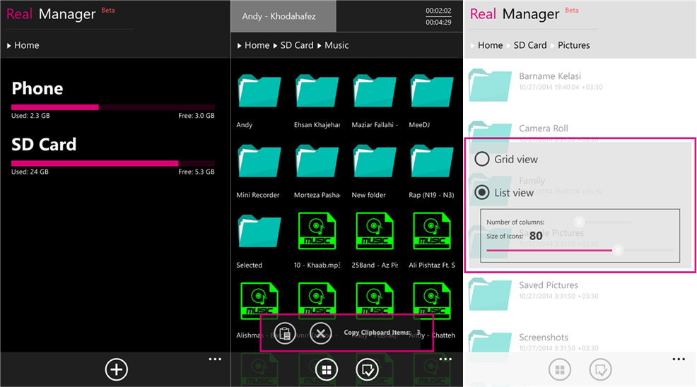 Download File Manager Untuk Windows Phone 8.1
